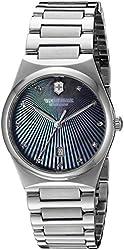 Victorinox Women's 'Victoria' Swiss Quartz Stainless Steel Casual Watch (Model: 241536)