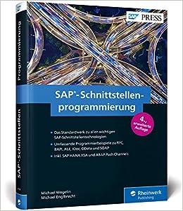 SAP-Schnittstellenprogrammierung: Programmierbeispiele zu