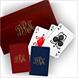 Boxed Playing Cards - with Monogram