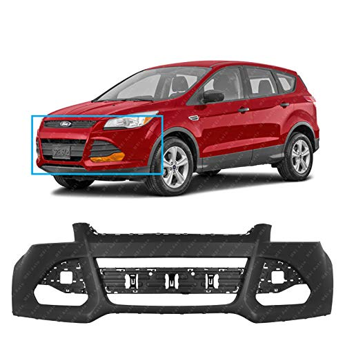 MBI AUTO - Primered, Front Bumper Cover Fascia for 2013-2016 Ford Escape 13-16, FO1000678 ()