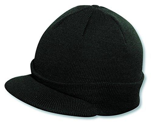 Otto Caps Acrylic Knit Short Visor Beanie
