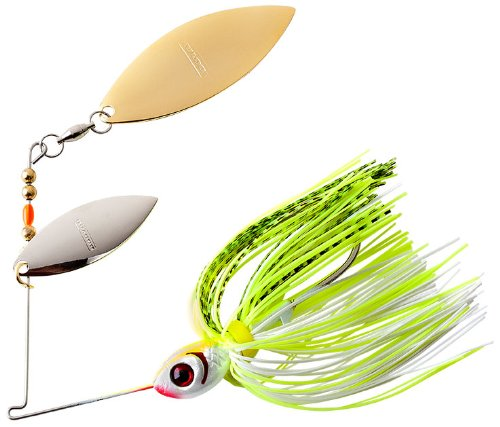 Double Willow - BOOYAH Blade - Double Willow Blade - Chartreuse White Shad - 1/2 oz