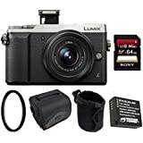 Panasonic LUMIX GX85 4K Mirrorless Digtial Camera w/12-32mm Lens & 64GB Bundle