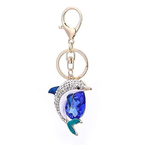 Coomir Llavero con Forma de delfín Colgante de Diamantes de ...