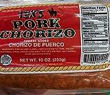 Tex's Pork Chorizo 10 Oz (6 Pack)