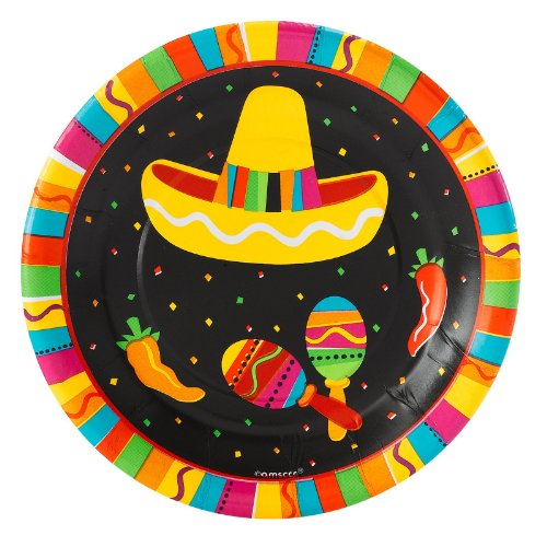 Fiesta Party 7 Inch Paper Plates