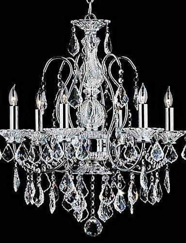 DXZMBDM® MAX:60W Traditionell-Klassisch Kristall Chrom Metall Kronleuchter Schlafzimmer / Esszimmer / Studierzimmer/Büro / Eingangsraum / Korridor , 220-240v