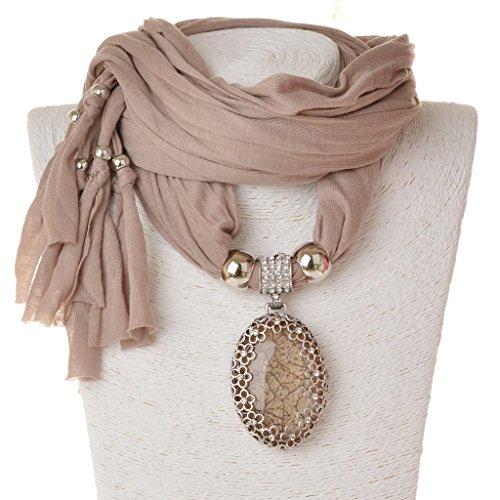 Necklace SUMAJU Scarves Pendant Rhinestone product image