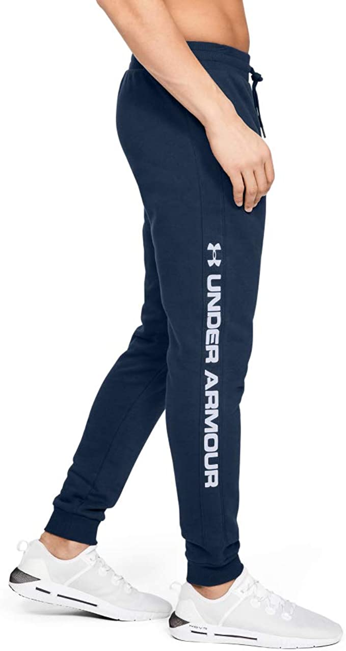 Under Armour Mens Rival Fleece Printed Joggers