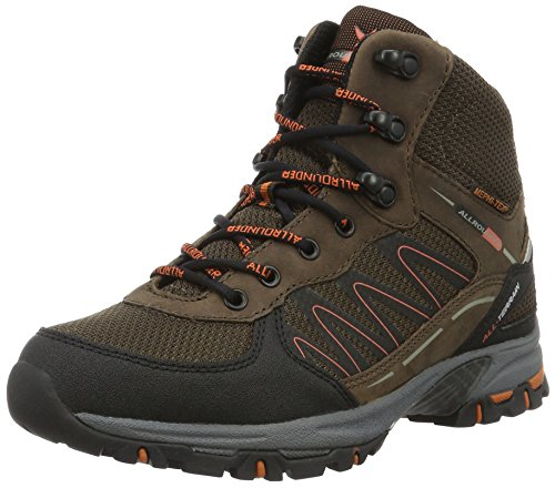Mephisto WoMen Padua-Tex Rubber 1/Ori 51 Ankle Boots, 16.5 Brown - Braun (Black/Dk Brown)