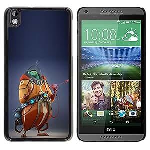 "For HTC DESIRE 816 Case , Monster Cgi Computer Graphics extranjero"" - Diseño Patrón Teléfono Caso Cubierta Case Bumper Duro Protección Case Cover Funda"