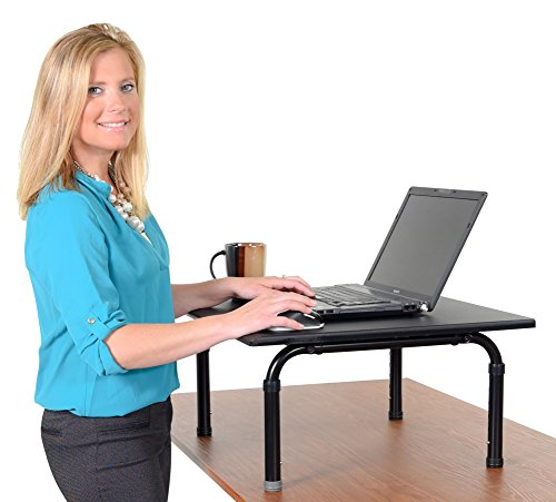 Adjustable height standing desk Convert your desk to a