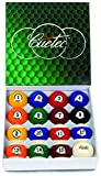 Cuetec Ball Set 2 1/4 Pool Balls, Lifetime Guarantee