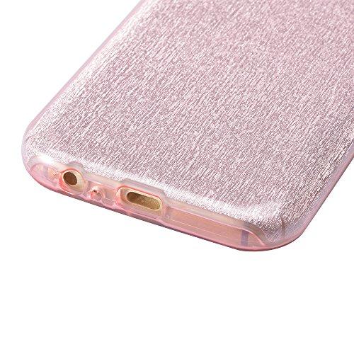Phone Movil Case Galaxy A5 2017 Transparente Doble TPU Cobertura Funda Samsung A5 (2017) Completo Carcasa 360 Grados Sleeve Suave de Silicona Frontal y Trasero Case Cover Full Body Resistente a los Ar H-02