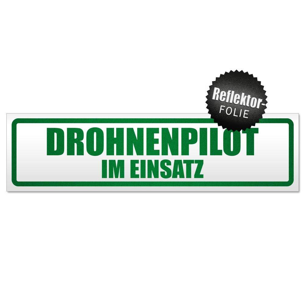 Kiwistar Drohnenpilot Im Einsatz Magnetschild Schild magnetisch