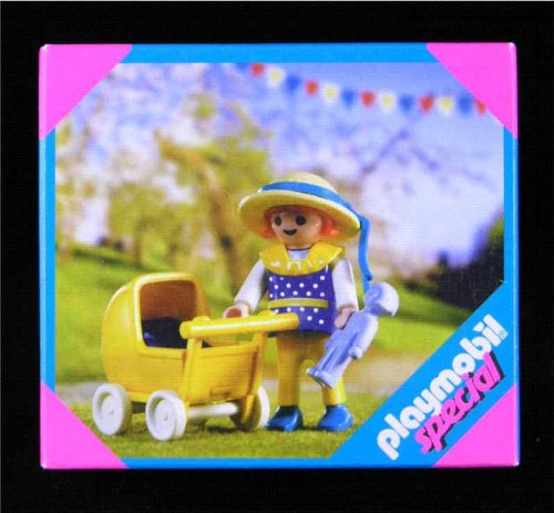 Playmobil 4584 Victorian Girl with Carriage and Doll