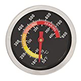 Baoblaze Stainless Steel BBQ Charcoal Grill Pit Wood Smoker Temperature Gauge Thermometer Replacement