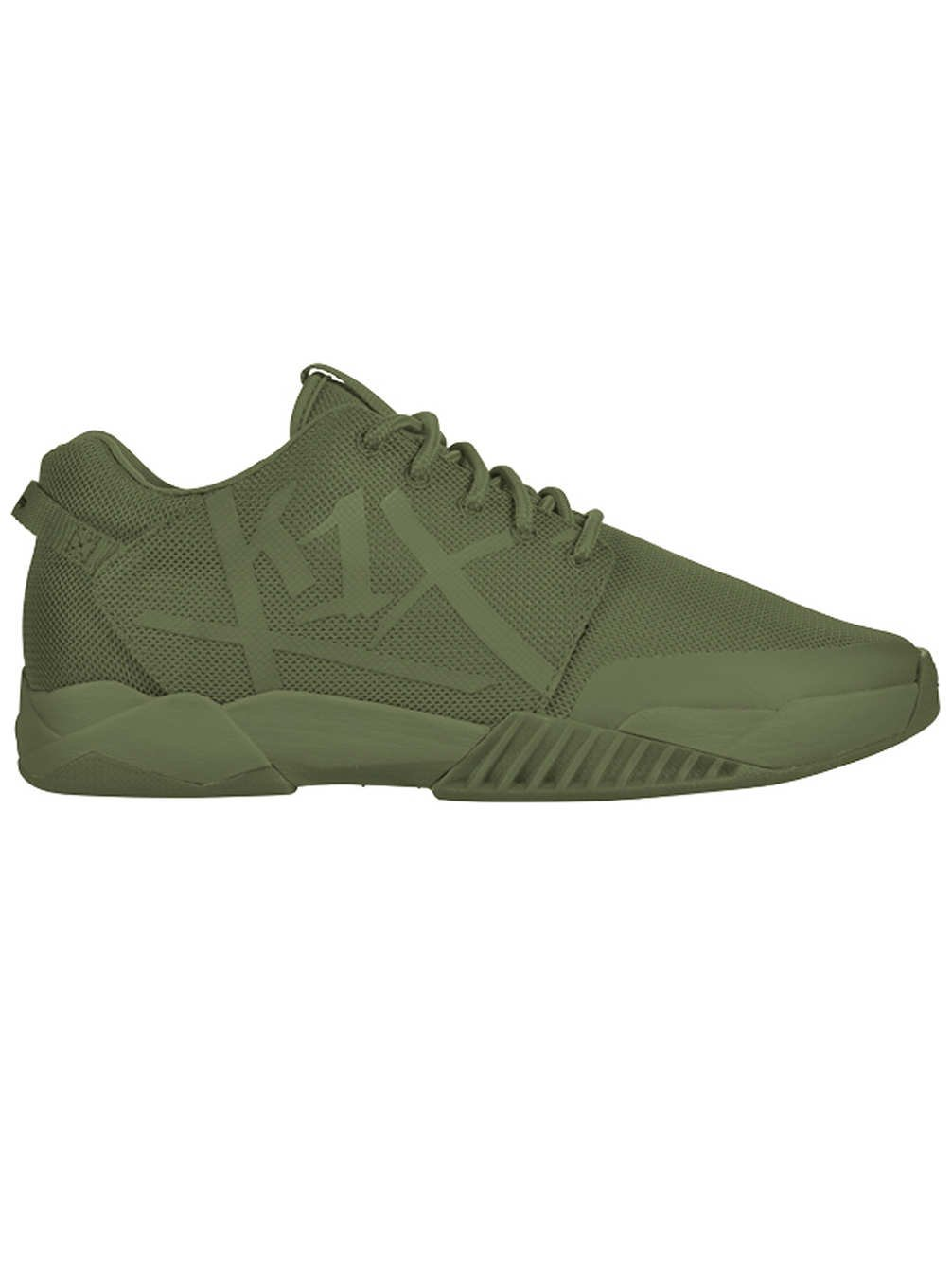 K1X All Net Low Top Basketballschuhe Olive