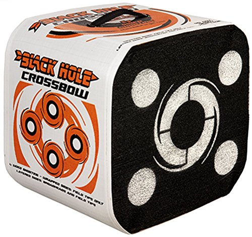 - Black Hole Crossbow 4-Sided Archery Target for Field Points and Broadheads