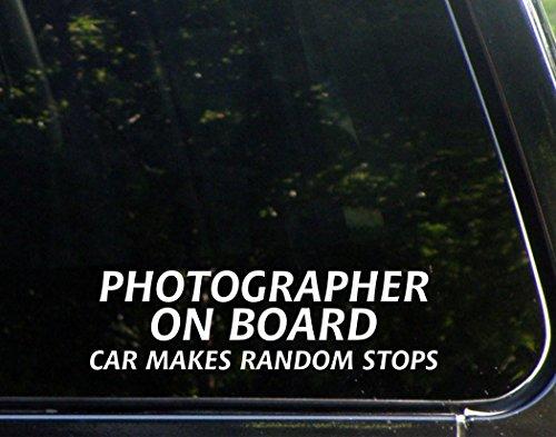 Photographer On Board Car Makes Random Stops (8-3/4