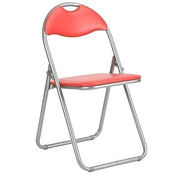 Bakaji Juego 6 Piezas sillas acolchadas plegables ...