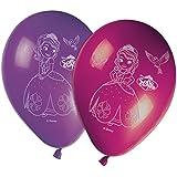 8 Ballons imprimés Princesse Sofia