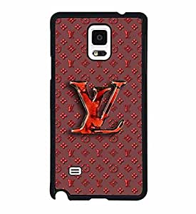 Louis & Vuitton Extra Slim Protective Rugged Funda Case Fit para Samsung Galaxy Note 4