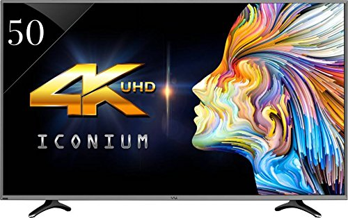 Best 50 inch 4k TVs in India under 50,000 - VU LEDN50K310X3D Iconium 4K Ultra Hd Smart Led Television