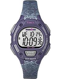 Timex Women's TW5M07500GP Ironman 30-Lap Mid Size Purple Dial Wrist Watch