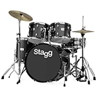Stagg TIM322B SPBK Drum Set