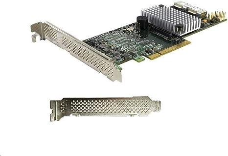 LSI Logic LSI00295 MegaRAID 9266-8i 8Port Internal 1GB SATA//SAS Controller Card