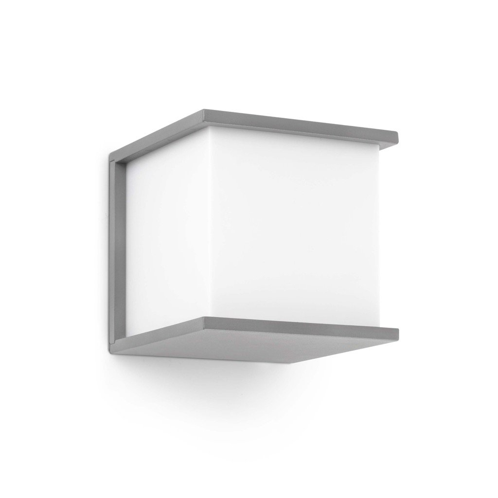 Faro 70715 KUBICK Lampe applique gris [Classe énergétique A+]