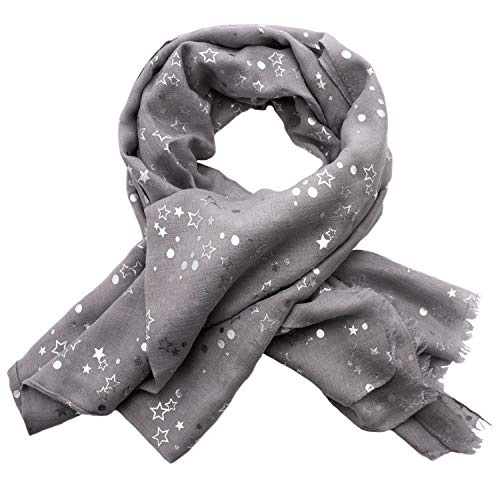 (Butterfly Foil Printed Women's Scarf - Many Colors to Choose From)
