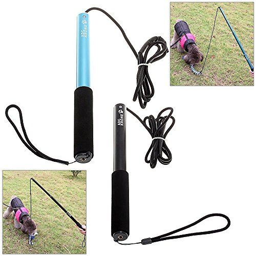 Sanzang-Dog-Toy-Dog-Outdoor-Play-Fun-Interactive-Chasing-Teaser-and-Exerciser-Extendable-Length-Interactive-Wand