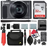 Canon PowerShot SX620 HS Digital Camera (Black) 25x Optical Zoom + 32GB SD + Spare Battery + Complete Accessory Bundle Review