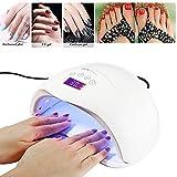 LED Nail Lamp Kit, BenchMart 48W Professional Nail Dryer Machine Fast Curing LED