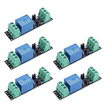 Relais module CANAL 5 V 2 4 8 pour Arduino Raspberry Pi ESP8266 ESP32 optocouler