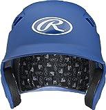 Rawlings Velo Series Alpha Sized Batting Helmet, Matte Royal, Medium