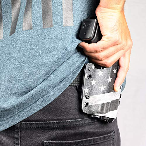 OWB Holster - Black (Right-Hand, Beretta PX4 Storm - SubCompact)