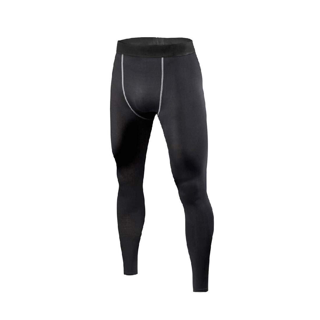 Mens Black Compression Long Pants Under Base Layer Tights #HLFN Peppermint Store XS-S