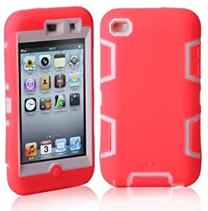 touch 4case,touch 4 cases, touch 4 cover,Ezydigital Carryberry Cute design 3in1 hybrid case cover for ipod touch 4 4th (touch 4)