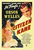 Citizen Kane, Orson Welles, Movie, Poster Art, Souvenir Magnet 2 x 3 Fridge Magnet