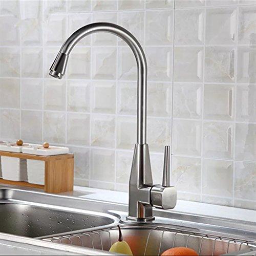 Octagonal faucet, stainless steel kitchen basin, high bend octagonal faucet, copper valve faucet
