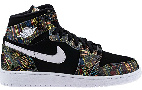 Jordan Air 1 Retro High GG BHM Black History Month Youth Lifestyle Sneakers - 5.5 by Jordan