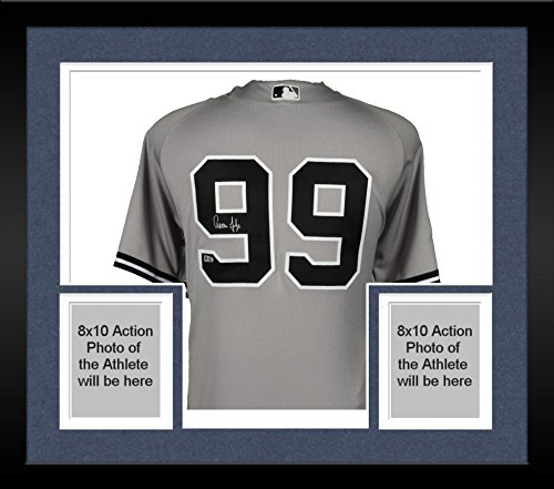 71d0f9054 Framed Aaron Judge New York Yankees Autographed Majestic 2017 All Star Game Authentic  Jersey - Fanatics Authentic Certified at Amazon s Sports Collectibles ...