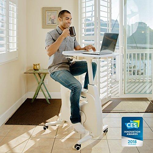 FLEXISPOT Home Office Standing Desk Exercise Bike Height Adjustable Cycle – Deskcise Pro