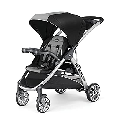BravoFor2 2-Passenger Double Stroller, Zinc by Chicco that we recomend personally.