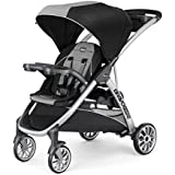 Chicco BravoFor2 Standing/Sitting Double Stroller, Zinc