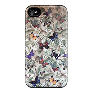 Unique Design iphone 6 Durable Tpu Case Cover Butterfly Pattern