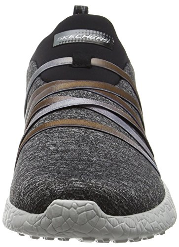 Burst Skechers Noir Noir Alter Femme Basses Baskets Ego qRRHdC